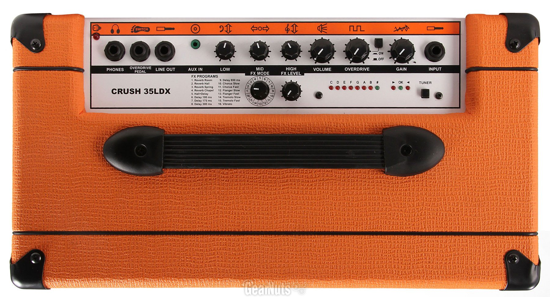 Solid State Battery >> Orange Amplification Crush Pix 35LDX   Styles Music