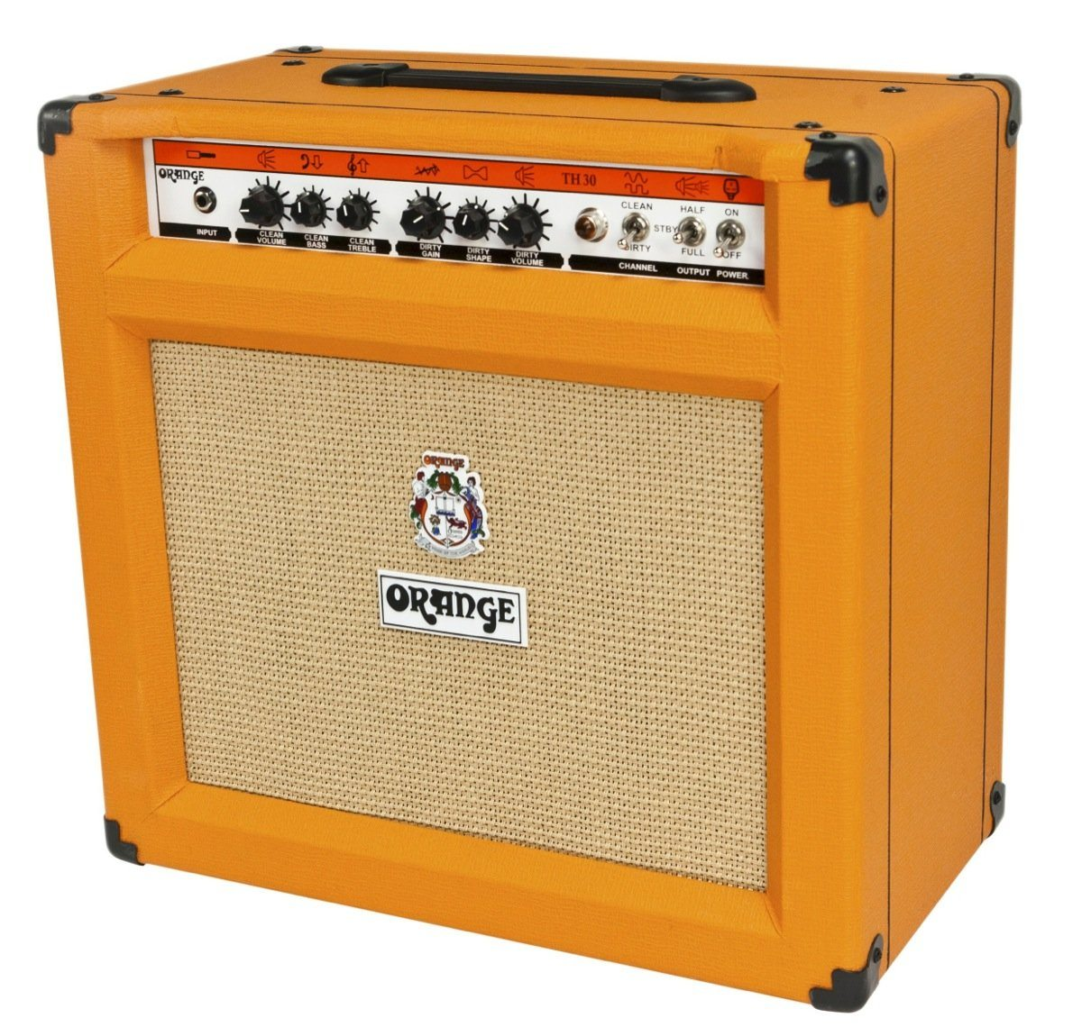 orange th30h 30 watt 1x12 tube guitar combo amp styles music. Black Bedroom Furniture Sets. Home Design Ideas