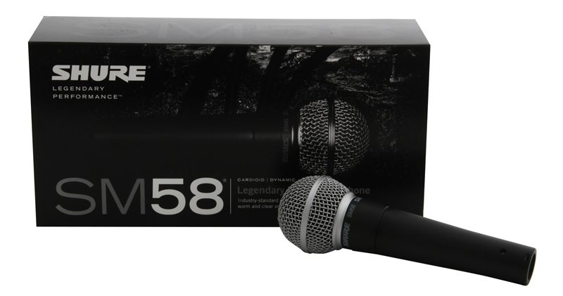 Shure SM58-LC Dynamic Vocal Microphone (Cable Not Included ...