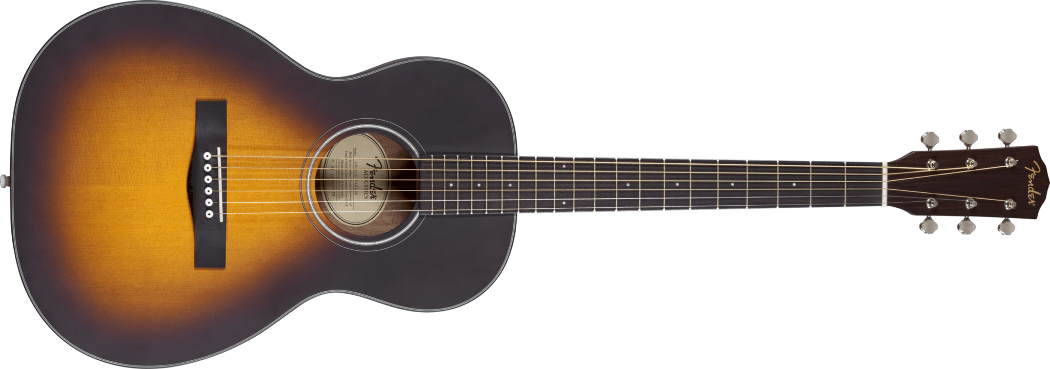 Fender Cp 100 Parlor Acoustic Guitar Styles Music