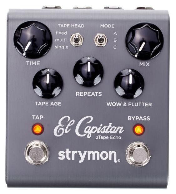 strymon el capistan tape echo pedal styles music. Black Bedroom Furniture Sets. Home Design Ideas